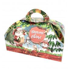 Коробка - Дед Мороз и Снеговички (400-500 г)