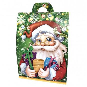 Коробка - Санта с подарками (400-500 г)