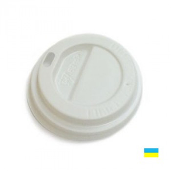 Крышка на стак. 175мл бел. КР-69 (50/2500)