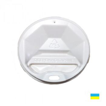 Крышка на стак. 175мл бел. КР-71 фигур. (50/3000)