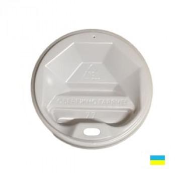 Крышка на стак. 250мл бел. КР-77 фигур. (50/3000)