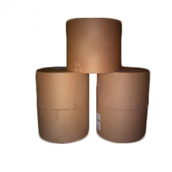 Бумага крафт коричневый целлюлозный 70г/м2 в промышленном рулоне