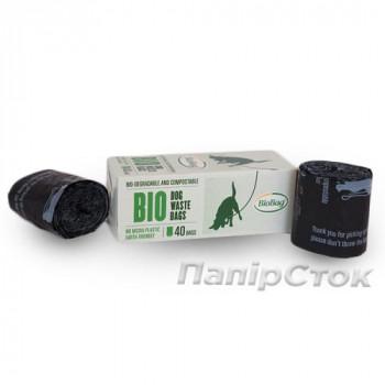 Биопакеты 200х290+30 мм(40 пак./рул)