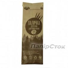 Размешиватель для напитков деревянный 140x6x1.8 мм  (25 шт)