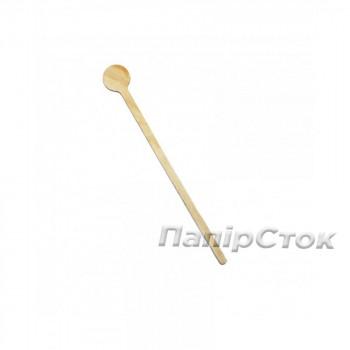 Размешиватель для напитков фигурной деревянный 180 мм ( 100 шт.)