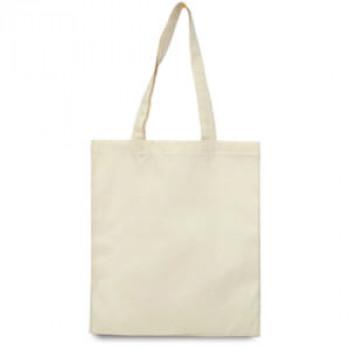 Эко-сумка 100% хлоппок-бязь 35х41 см белая