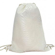 Эко-рюкзак 100% хлопковая белая 35х45 см