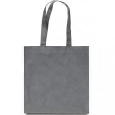 Эко-сумка из спанбонда серая 38х40 см