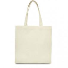 Эко-сумка 100% хлопковая белая 38х40 см