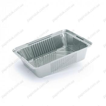 Прямоугольный контейнер с L бортом + крышка картонная 255 мл (3 шт./уп.)