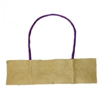 Ручки бумажные фиолетовые (1 пара = 2 ручки)