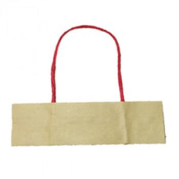 Ручки бумажные красные (1 пара = 2 ручки)
