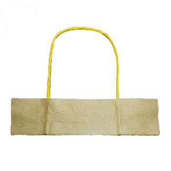 Ручки бумажные желтые (1 пара = 2 ручки)