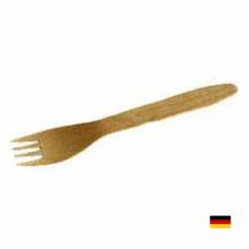 Вилки деревянные (100 шт.) - image