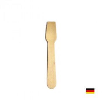 Ложки деревянные для мороженого 9,4 см. (100шт.)