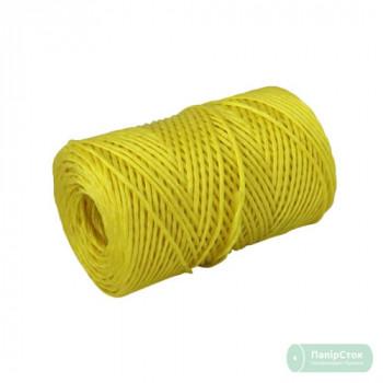 Шпагат полипропиленовый 2000текс, 200м жёлтый