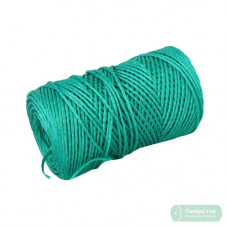 Шпагат полипропиленовый 2000текс, 200м зелёный - image