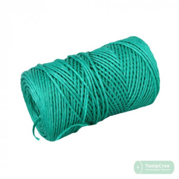 Шпагат полипропиленовый 2000текс, 200м зелёный