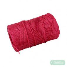 Шпагат полипропиленовый 2000текс, 200м красный