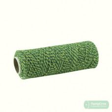 Шнур поліпропіленовий кручений 80м зелений