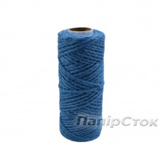 Шнур поліпропіленовий кручений 80м синій