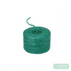 Шпагат джутовый зелёный/лайм 45м