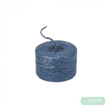 Шпагат джутовый синий/тём. синий 45м