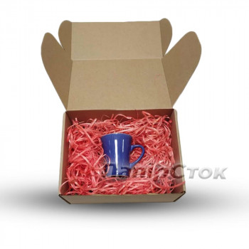 Стружка декоративная розовая (25 гр)