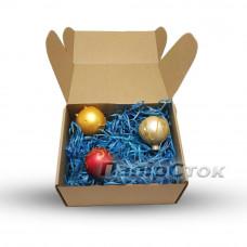 Стружка декоративная синяя (25 гр) - image