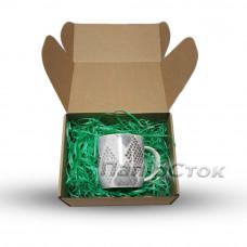 Стружка декоративная зеленая (50 гр) - image
