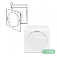 Конверт К6 (0 + 0) МК для СД окно д = 100мм (размер: 125 х 125 мм) (50 шт. /уп.)