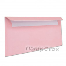 Конверт Е65 (0 + 0) СКЛ розовые (размер: 110 х 220 мм.) (50 шт./уп.) - image