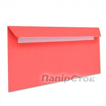Конверт Е65 (0 + 0) СКЛ красные (размер: 110 х 220 мм.) (50 шт./уп.)