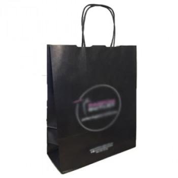 Пакет чорний 230х100х320 з ручками Parfum outlet
