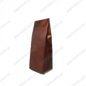 Дой-пак бронзовый 65х200х20 с центральным швом