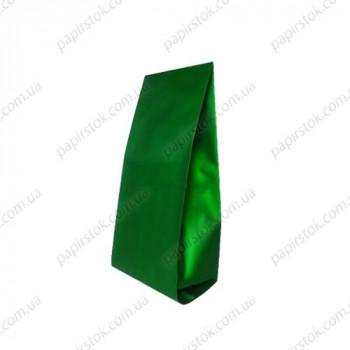 Дой-пак зеленый 80х250х32 с центральным швом