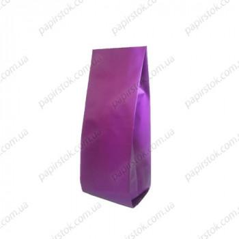 Дой-пак фиолетовый 80х250х32 с центральным швом