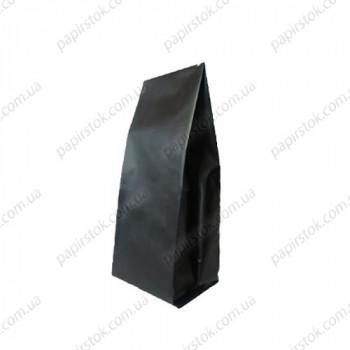 Дой-пак чорний 80х250х32 з центральним швом