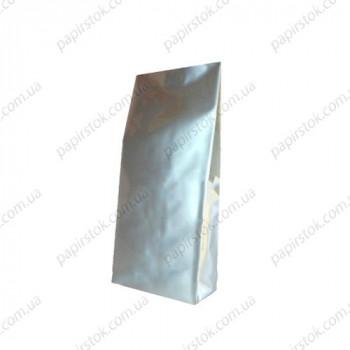 Дой-пак срібло 80х250х32 з центральним швом
