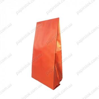 Дой-пак красный матовый 80х250х32 с центральным швом