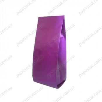 Дой-пак фиолетовый 90х320х30 с центральным швом
