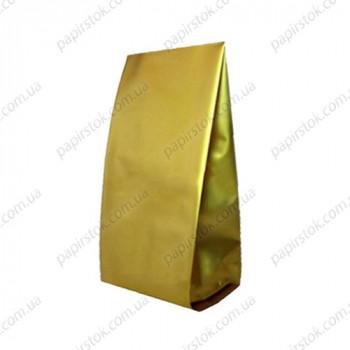 Дой-пак золото 135х360х35 з центральним швом