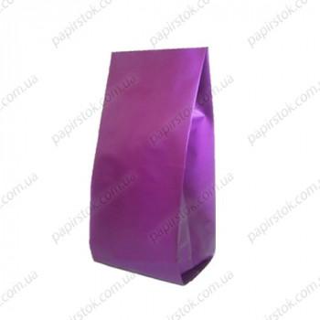 Дой-пак фиолетовый 135х360х35 с центральным швом