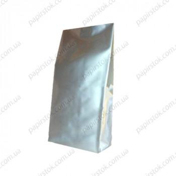 Дой-пак срібло 135х360х35 з центральним швом