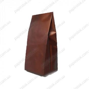Дой-пак бронзовый 135х360х35 с центральным швом