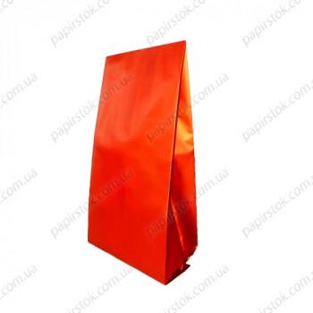 Дой-пак червоний матовий 135х360х35 з центральним швом