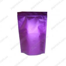 Дой-пак фиолетовый 140х240х45 зип, насечки - image