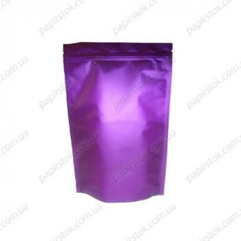 Дой-пак фіолетовий 140х240х45 зіп, насічки
