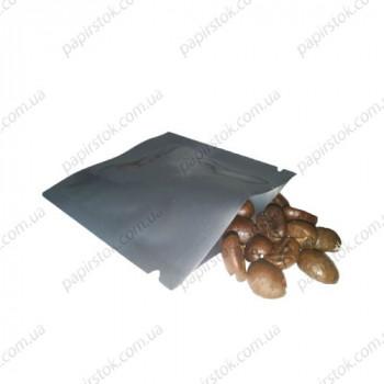 Дой-пак саше для пробников серебро 70х70 с насечками