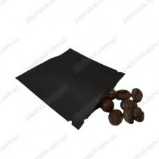 Дой-пак саше для пробников черный 70х70 с насечками - image
